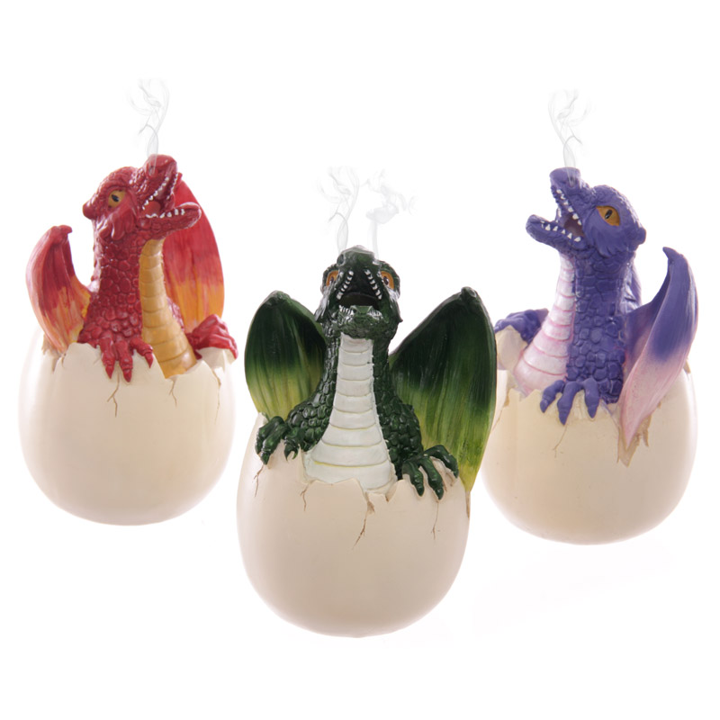 Hatching Dragon Incense Cone Burner
