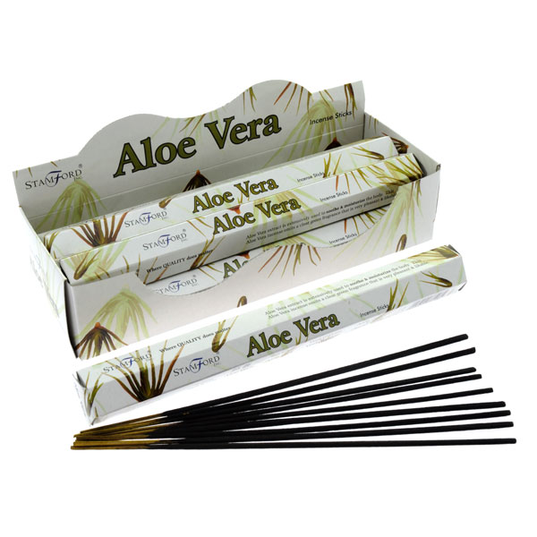 Box of 20 Aloe Vera Incense Sticks