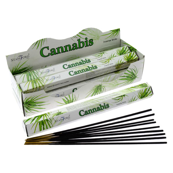 Box of 20 Cannabis Incense Sticks