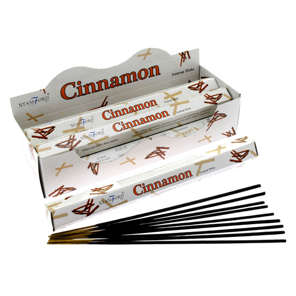 Box of 20 Cinnamon Incense Sticks