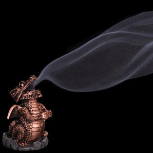Smoking Dragon Cone Burner - Copper