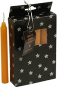 Pack of 12 Small Spell Candles - Orange