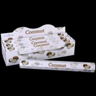 Box of 20 Coconut Incense Sticks