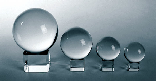 30mm Crystal Ball on Stand